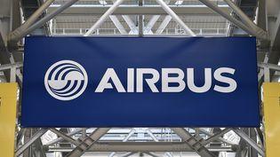 Le logo d'Airbus sur le site de Blagnac (Haute-Garonne). Photo d'illustration. (AFP)