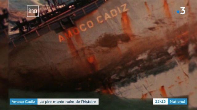 Amoco Cadiz : la pire marée noire de l'histoire
