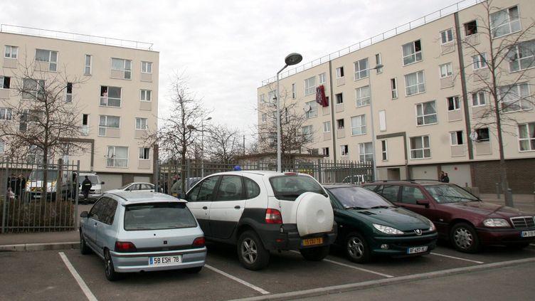 La cité de la Noé, à Chanteloup-les-Vignes (Yvelines). Photo d'illustration. (JULIEN CONSTANT / MAXPPP)