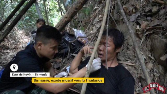 Birmanie : les Karen, ethnie minoritaire, contraints de fuir vers la Thaïlande