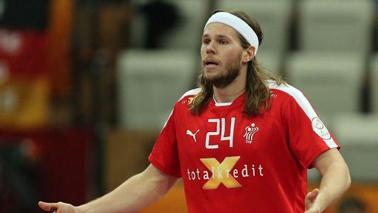 Mikkel Hansen a été exclu contre le Bahreïn  (KARIM JAAFAR / AL-WATAN DOHA)