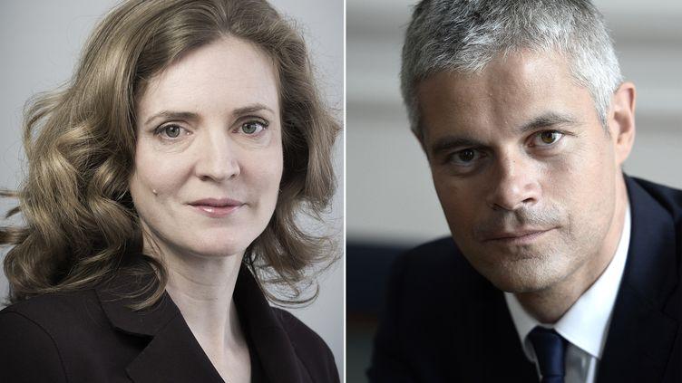 Nathalie Kosciusko-Morizet et LaurentWauquiez, respectivement numéro 2 et numéro 3 de l'UMP. (JOEL SAGET / AFP)