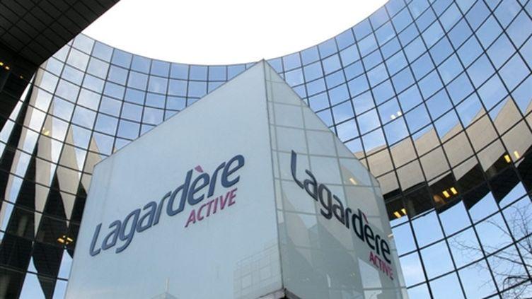 L'immeuble du groupe Lagardère (AFP)