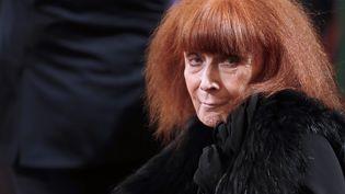 La couturière française Sonia Rykiel, le 26 novembre 2013 à Paris. (CHRISTIAN HARTMANN / AFP)