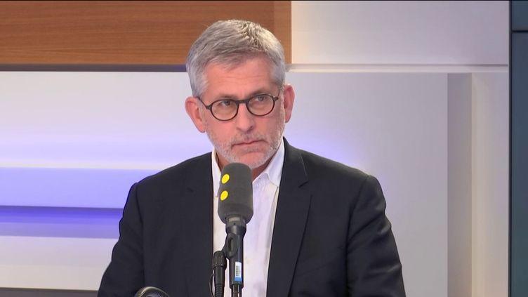 Frédéric Valletoux, président de la Fédération hospitalière de France. (RADIO FRANCE / FRANCEINFO)