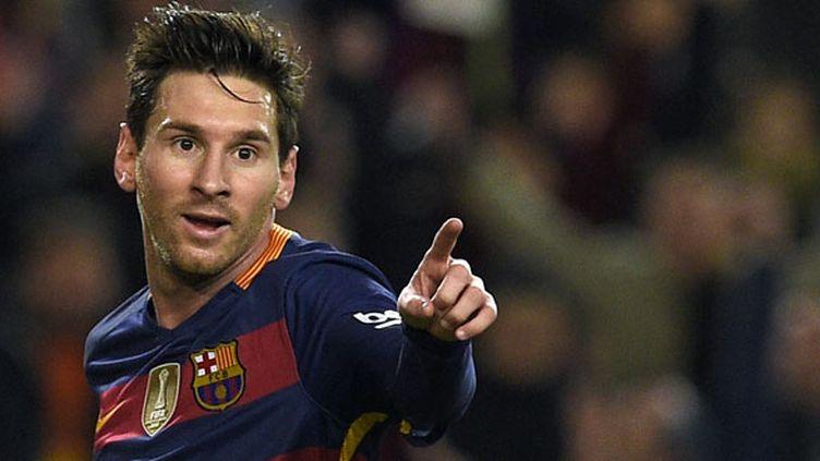 Le joueur du FC Barcelone Lionel Messi