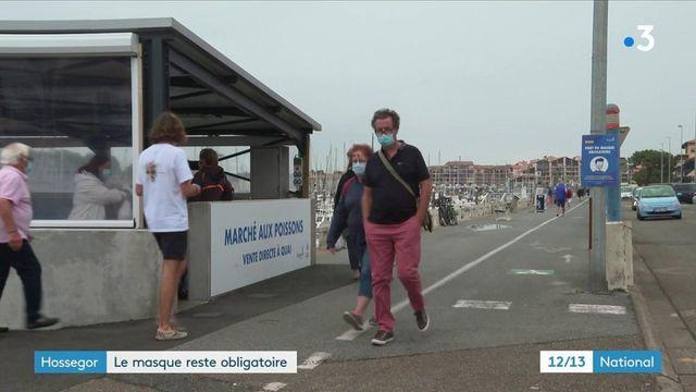 Landes : à Hossegor, on doit remettre le masque