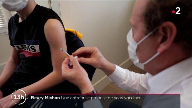 Vendée : un centre de vaccination au sein de l'entreprise Fleury Michon