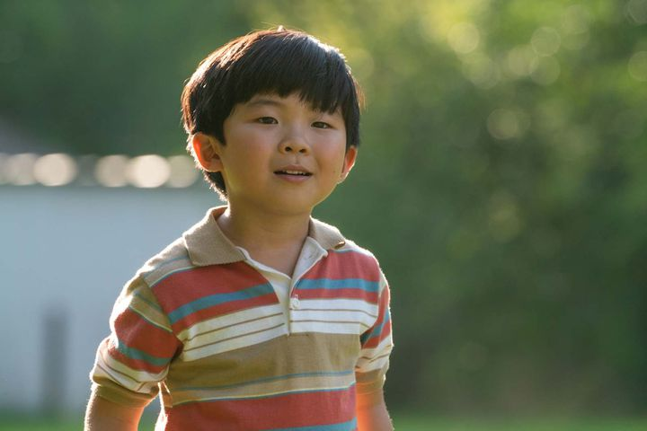 "L'acteur Alan S. Kim dans ""Minari"", deLee Isaac Chung, juin 2021 (Josh Ethan Johnson/ Prokino/ A24)"