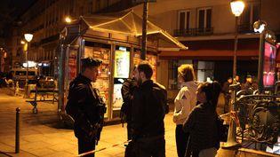 Une attaque au couteau dans les rues de Paris, samedi 12 mai, a causé la mort d'un passant. (MAXPPP)