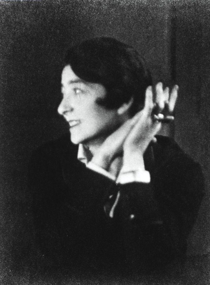 Berenice Abbott, Portrait d'Eilee Gray, Paris, 1926  (Berenice Abbott / Commerce Graphics)