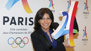 Anne Hidalgo présente Paris 2024 le 17 septembre 2016 (FRANCOIS GUILLOT / AFP)