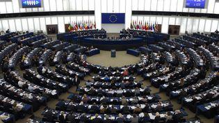 Le Parlement européen, le 13 février 2019. (FREDERICK FLORIN / AFP)