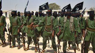 Des combattants shebabs dans un village dans le sud de la Somalie en 2011. (AFP/Abdurashid Abdulle)