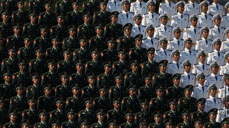 Lors du défilé du 70e anniversaire de la fin de la guerre sino-japonaise à Pékin, le 3 septembre 2015. (AFP)