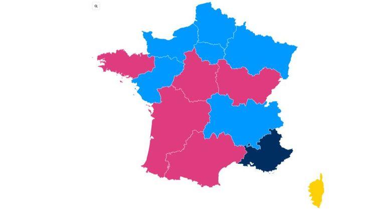Valérie Pécresse arrive en tête en Ile-de-France. (FRANCEINFO)