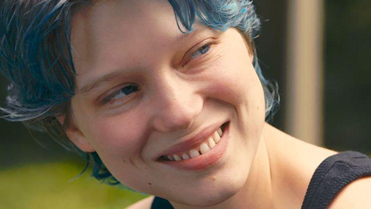 Léa Seydoux alias Emma aux cheveux bleus  (Wild Bunch Distribution)
