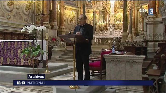 Église : le pape François affiche son soutien au cardinal Barbarin
