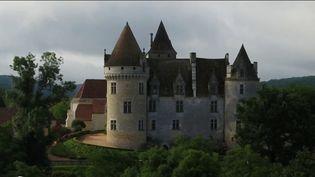 Dordogne : visite au château des Milandes, le refuge de Joséphine Baker (CAPTURE ECRAN FRANCE 2)