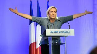Marine Le Pen, le 18 septembre 2016. (FRANCK PENNANT / AFP)