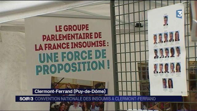 Clermont-Ferrand : les militants de la France insoumise réunis pour une convention nationale