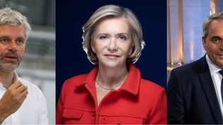 Laurent Wauquiez, Valérie Pécresse et Xavier Bertrand ont chacun remporté leur élection lors des régionales et peuvent désormais regarder vers la présidentielle. (FRANCEINFO)