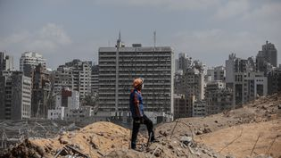 La ville de Beyrouth, au Liban, le 8 août 2020. (MUHAMMET FATIH OGRAS / ANADOLU AGENCY / AFP)