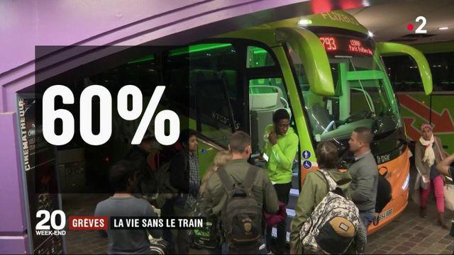 Grèves : la vie sans le train