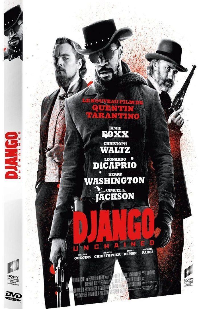 """Jaquette de """"Django Unchained"""" de Quentin Tarantino  (Sony Pictures)"""