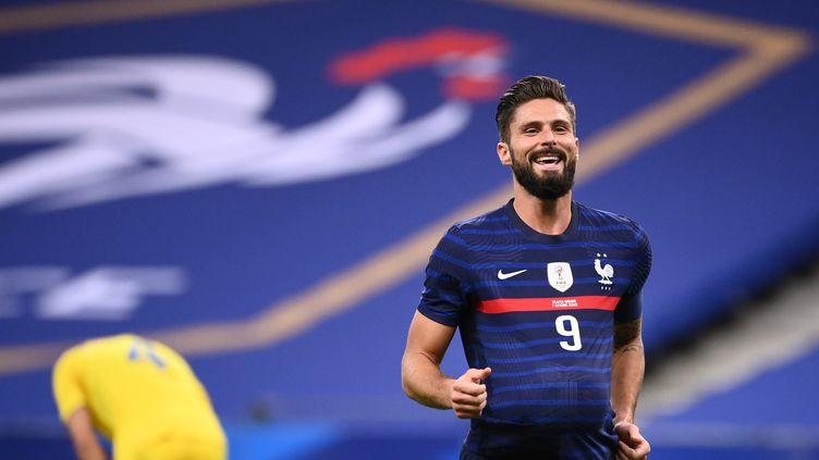 Olivier Giroud France Ukraine (FRANCK FIFE / AFP)
