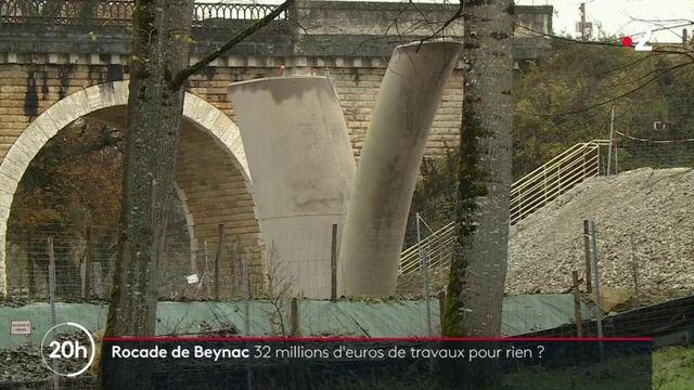 Contournement de Beynac : 32 millions d'euros de travaux pour rien ?