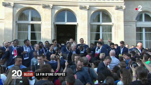 Équipe de France : la fin de l'épopée des Bleus