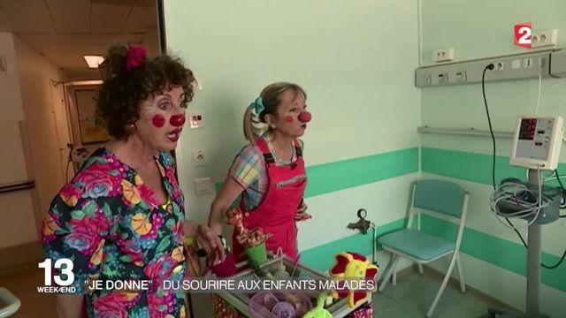 Des clowns dans les hôpitaux pour faire rire les enfants malades