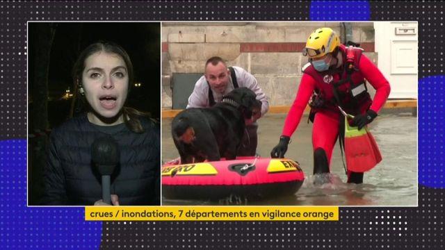 Inondations en Charente-Maritime : le pic de crue attendue dans les prochaines heures à Saintes, la prudence reste de mise