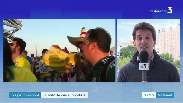 Coupe du monde : La bataille des supporters