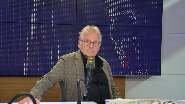 Daniel Cohn-Bendit,ancien député européen EELV. (JEAN-CHRISTOPHE BOURDILLAT / RADIO FRANCE)