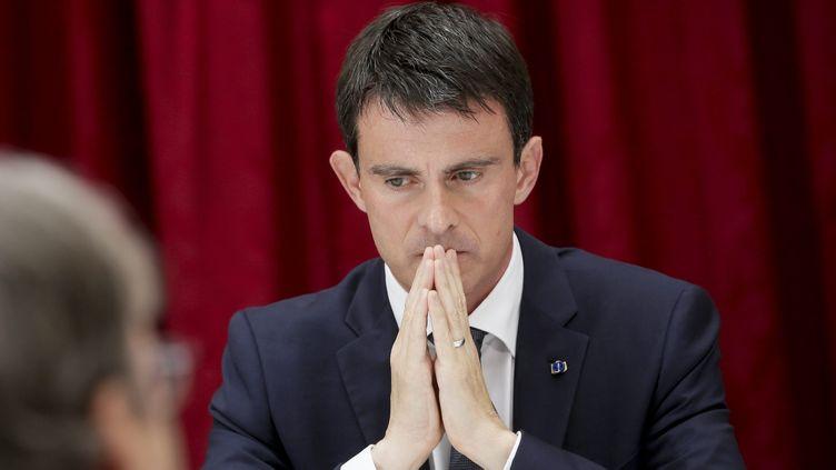 (Manuel Valls est décidé à agir dans les jours qui viennent, confie son entourage © MAXPPP)