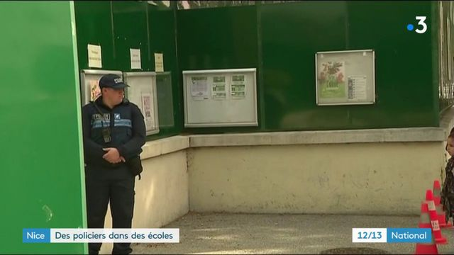 Nice : la présence de policiers dans des écoles fait polémique