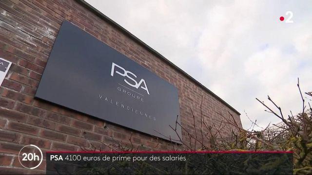 PSA : jusqu'à 4 100 € de prime pour les salariés