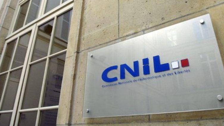Le logo de la Commission nationale informatique et libertés (CNIL) (AFP - STEPHANE DE SAKUTIN)