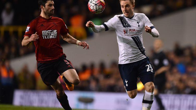 Christian Eriksen et Tottenham ont sans doute dit adieu au titre (BEN STANSALL / AFP)