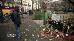 """Max, victime d'attentat : """"Sans ce traitement, j'aurais fait une grosse bêtise"""" (""""Envoyé spécial"""") (FRANCE 2 / FRANCETV INFO)"""