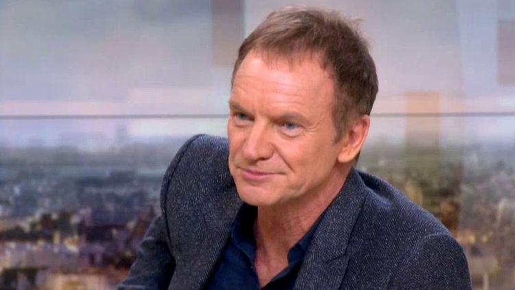 Sting invité du 20 h de France 2  (France 3 / Culturebox)