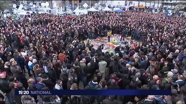 Attentats en Belgique : l'heure est à l'émotion
