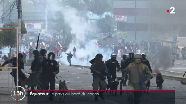 Équateur : le pays est au bord du chaos