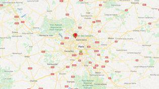 Des échauffourées ontopposé policiers et habitants à Argenteuil (Val-d'Oise),le 17 mai2020. (GOOGLE MAPS)