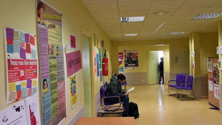 Des cas de rougeole à l'université de Lille, le 16 février 2018. (PHILIPPE PAUCHET / MAXPPP)