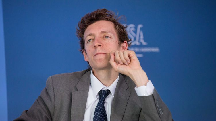 Édouard Geffray, directeur général de l'Enseignement scolaire, le 27 septembre 2016 à Paris. (CHRISTOPHE MORIN / MAXPPP)