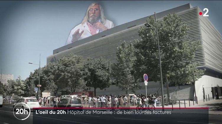 Protocole Raoult : les très chères factures des hôpitaux de Marseille (FRANCE 2)