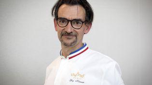 Guy Krenzer,patron des cuisines de Lenôtre. (THOMAS SAMSON / AFP)